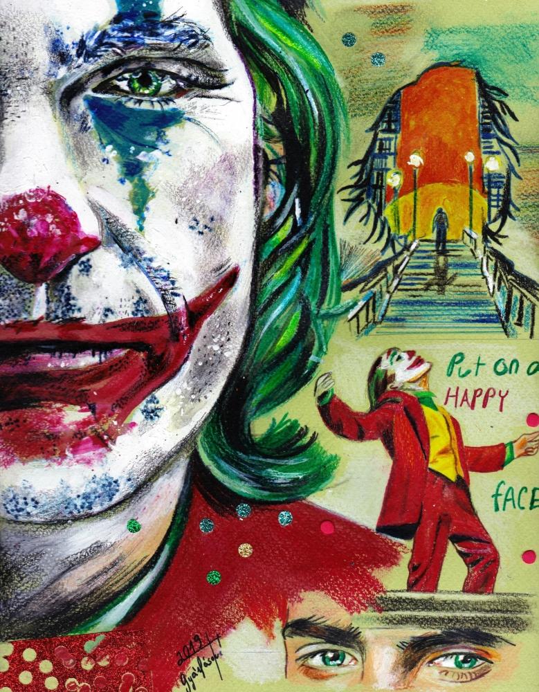 Joker, Joaquin Phoenix by lilie1111